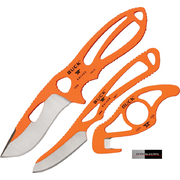 Buck Orange Paklite Field Master Utility Knife Kit BU141ORSVP