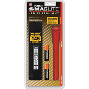 Mini Maglite LED 2AA Professional Torch - Red