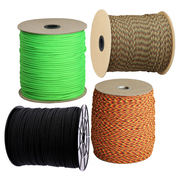 Atwood Rope MFG Paracord (550lb/249kg) 305m Made in USA, Various Colours