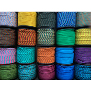 "Atwood Rope MFG Utility Rope 1/16"" (110lb/50kg) 30m Made in USA, Various Colours"