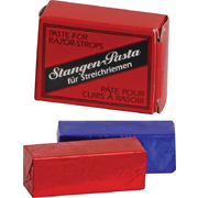 Herold-Solingen Stagenpaste Medium (Red)/Fine (Black) Solid Leather Strop Paste Set