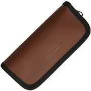 We Knife Brown Leather Storage Pouch A-04